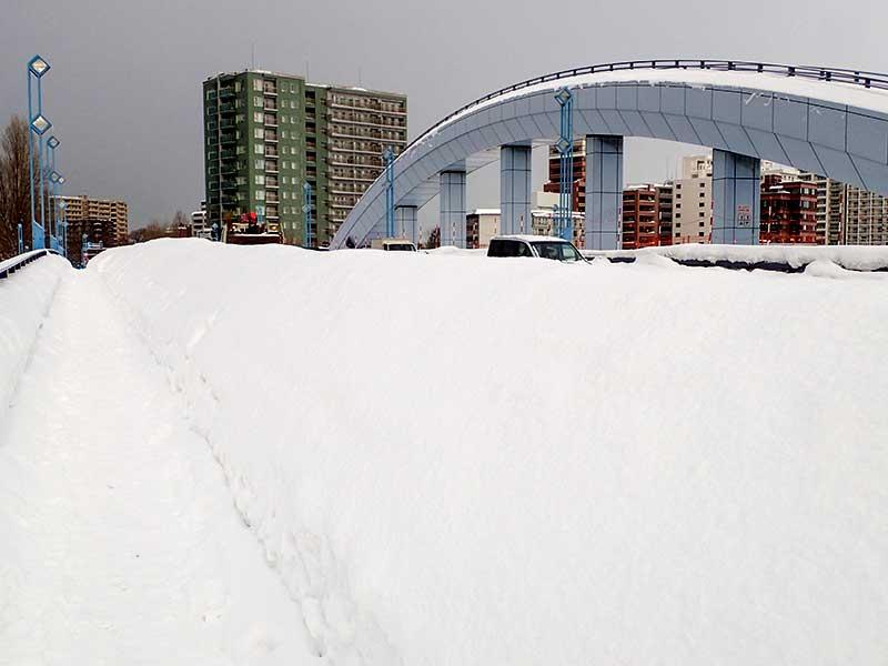 冬の幌平橋