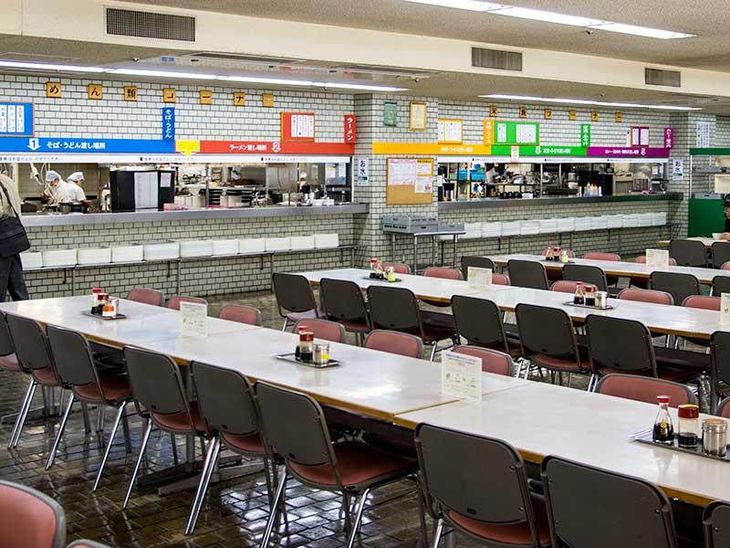 札幌市地下食堂