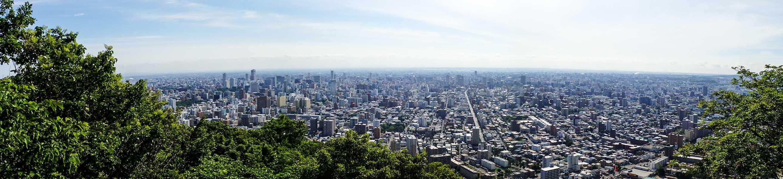 円山山頂からの展望