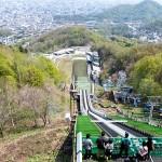 大倉山ジャンプ競技場とウィンタースポーツミュージアム