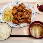 手稲区役所のメガザンタレ定食