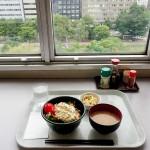 札幌第2合同庁舎食堂で丼定食